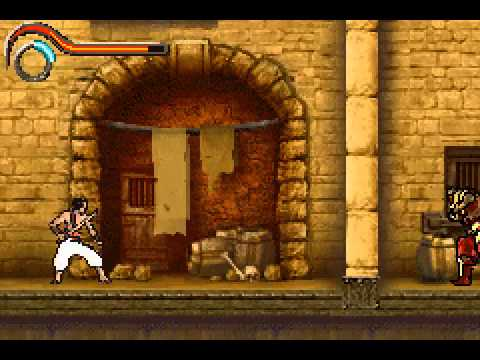 Game Boy Advance Longplay 094 Prince Of Persia The Sands Of Time Youtube