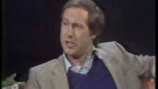 Final Tomorrow Show w/ Chevy Chase attacking NBC and Rex Reed