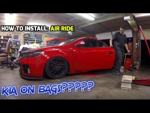 Bagged kia how to install air ride youtube bagged kia how to install air ride freerunsca Images