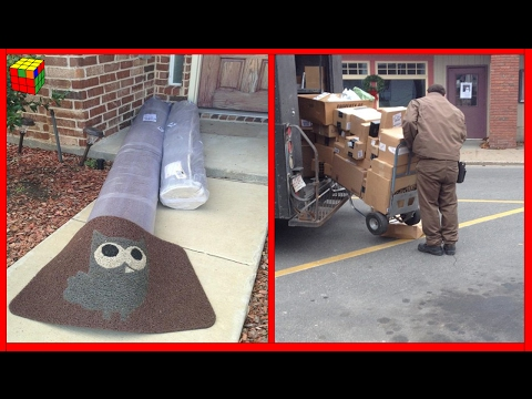 80 Shocking Package Delivery Funny Fails