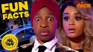 Masked Video Game Dancer Celebrity Edition FUN FACTS! ft. Ariana Grande, Beyoncé & More! | All That