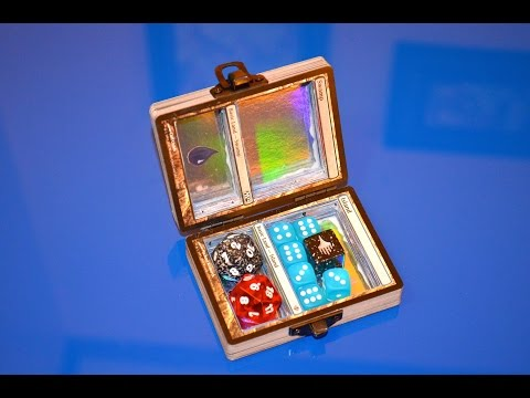 How to make a custom MTG dice box