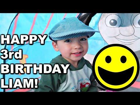 HAPPY 3rd BIRTHDAY LIAM! 🎂