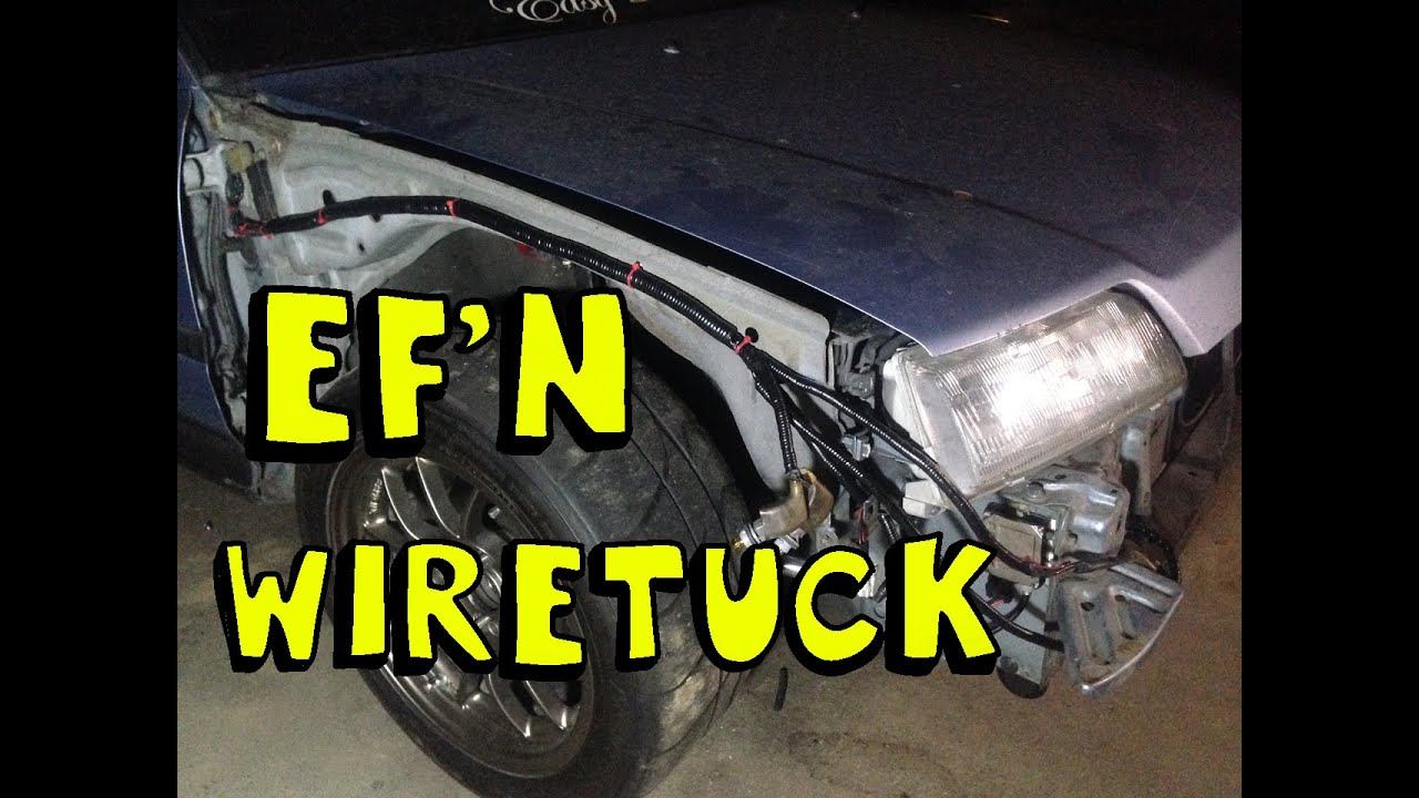 Ef Wire Tucked Engine Bay Center Com Circuitdiagram Automotivecircuit Buickairconditioningcircuit Diy Tuck Quickie Youtube Rh Honda Wagon Hatch
