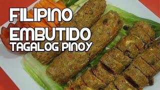Paano magluto Pork Embutido Recipe - Pinoy Tagalog Filipino
