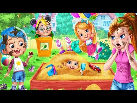 Fun Babysitter Craziness Kids Game - Play and Learn Bath Time, Dress Up and Feed Game By Tatale