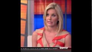 Charissa Thompson Black Pantyhose Tights 03 14 12 FT HD