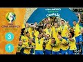 #biplobkumar #final #copa #America Brazil Vs Peru - Highlights & Goals - Copa America Final 2019