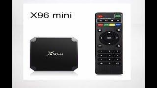 BOX TEST : Android X96 Mini Smart TV.
