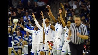 Watch each team's celebration as they advance in the NCAA tournament