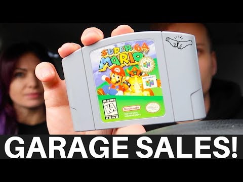 2 WEEKS OF GARAGE SALE FINDS! - Live Ride Along eBay / Amazon Sourcing Trip January 2018