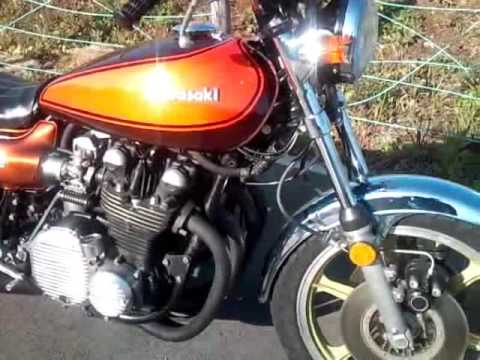 kawasaki z1-900 1972 - youtube