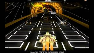Skrillex - First of the Year (Equinox) on Audiosurf