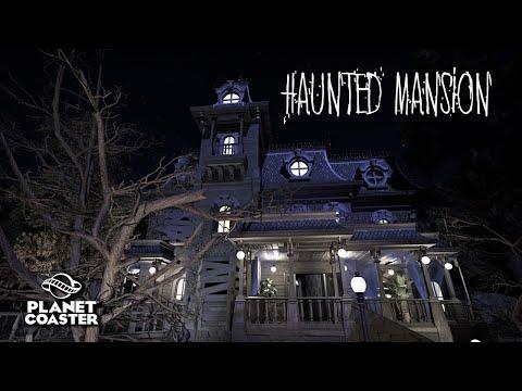 Planet Coaster | Haunted Mansion 👻 | Dark Ride