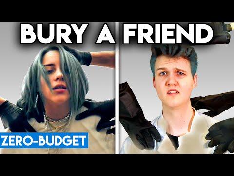 BILLIE EILISH WITH ZERO BUDGET! (Bury a Friend PARODY)