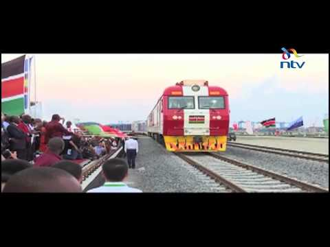 SGR freight train officially launched, makes maiden trip from Mombasa to Nairobi