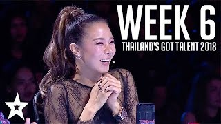 Thailand's Got Talent Auditions | WEEK 6 | Got Talent Global