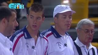 Championnat du monde de pétanque 2012 - 1/2 finale - France vs Belgique