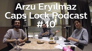 #40 İTÜ ARI Teknokent Pazarlama Direktörü Arzu Eryılmaz - Caps Lock Podcast