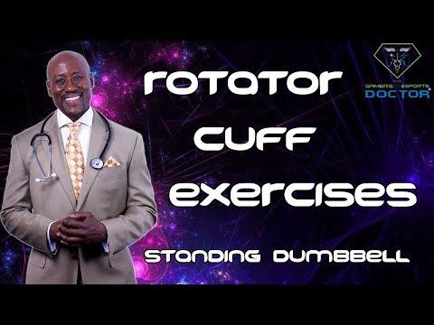 Rotator Cuff Strengthening Exercises Part 1: Standing Dumbbell