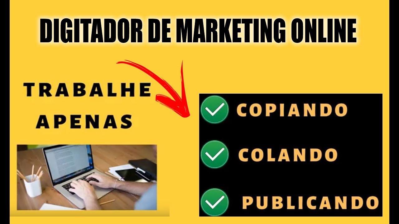 Resultado de imagem para digitador marketing digital