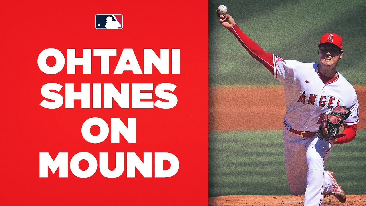 8 innings, 10 Ks! Shohei Ohtani shines on the mound against the A's!