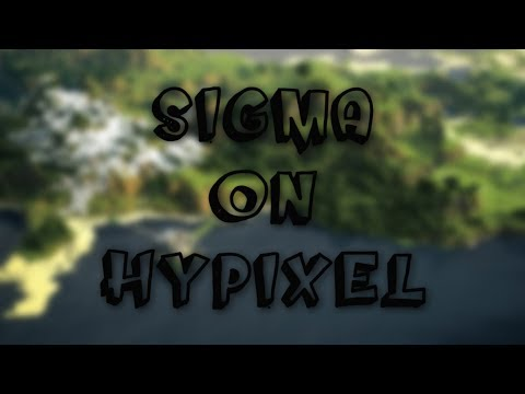 Sigma V4.12 [PRIVATE CONFIG] Release! | Minecraft Sigma V4.12