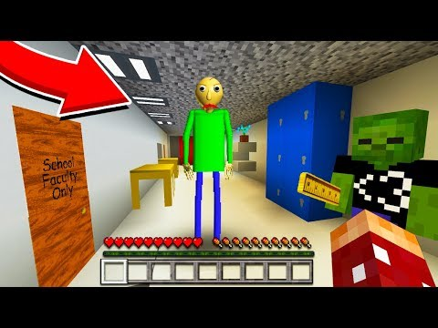 Baldi's Basics MULTIPLAYER in Minecraft Pocket Edition