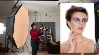 Видео уроки фотографии - Портрет с мягким освещением