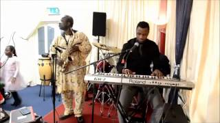 Nigerian gospel music mixed with praise and worship @ RCCG Ireland jjj