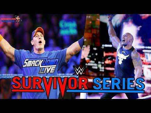 JOHN CENA Joins Team SmackDown Live   Rock Returns at Survivor Series   WWE Survivor Series 2018  
