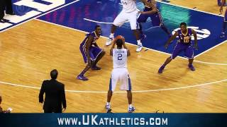 Kentucky Wildcats TV: Kentucky 77 LSU 76