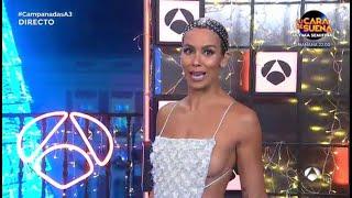 El vestido de Cristina Pedroche en las Campanadas 2020: brillantes y un homenaje a las mascarillas