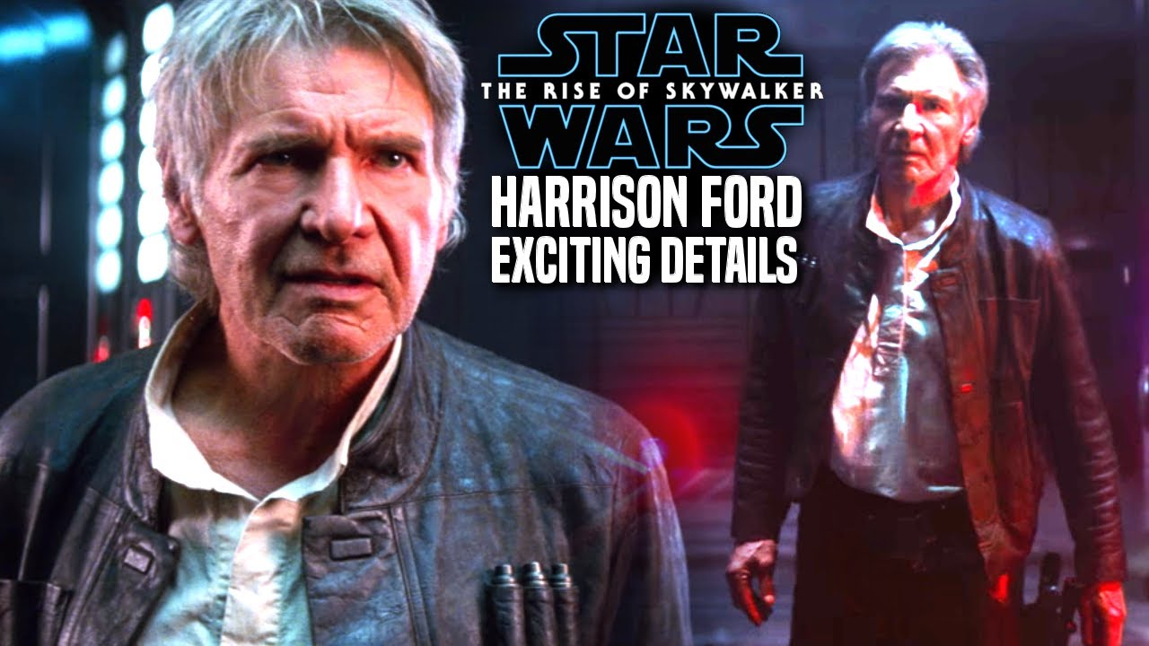 The Rise Of Skywalker Harrison Ford Is Back For This Scene Star Wars Episode 9 Youtube