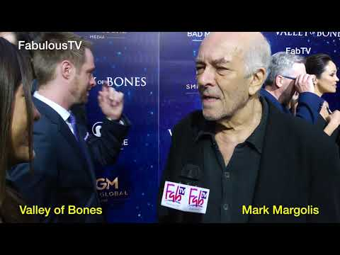 Mark Margolis talks of 'Valley of Bones' on FabulousTV