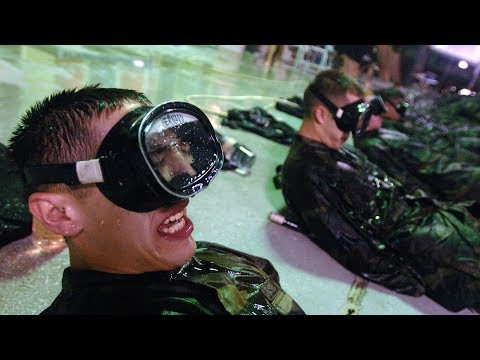 US Air Force Pararescue training - Pararescue Indoctrination Course
