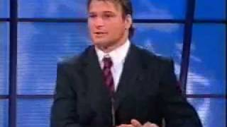 The Footy Show AFL (2003) - Sam's rant on a letter from umpires