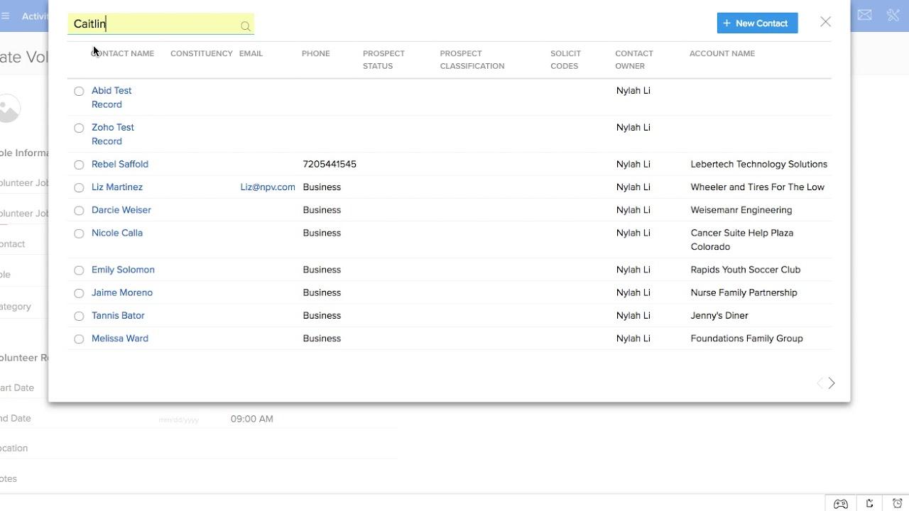 Nonprofit Vertical Source CRM Setup Series - Volunteer Management Module