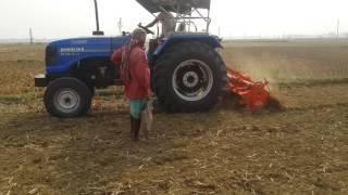 Sonalika Tractor with sonalika rotavator by Jaydeb Ghosh
