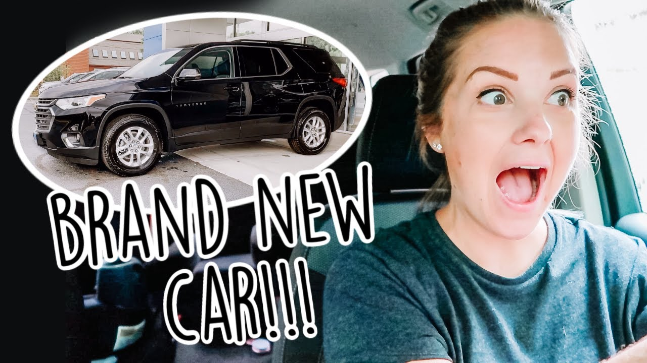WE BOUGHT A BRAND NEW CAR!!!    Car Shopping While Pregnant!