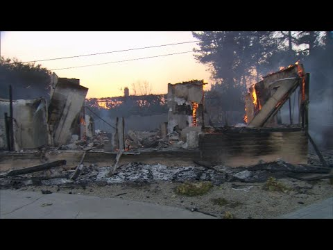 Download Youtube: Dream Home of 8-Month-Pregnant Wife and Husband Burns to Ground in LA Fires