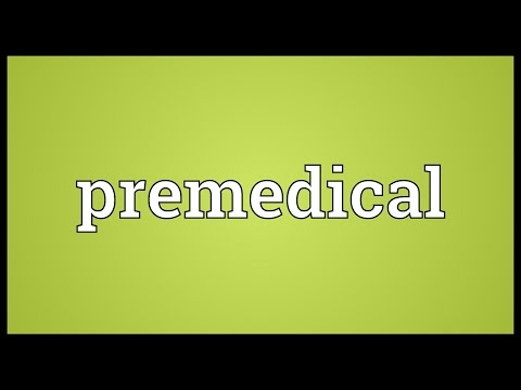 Header of premedical