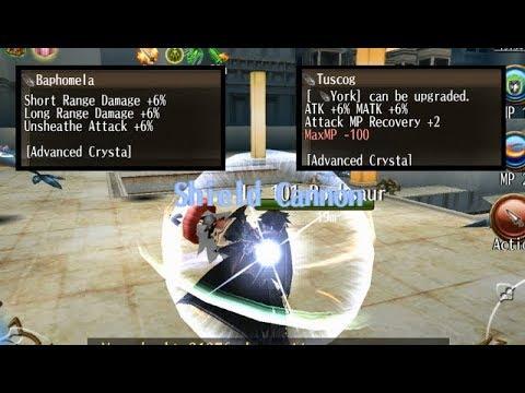 Toram Online - Atk% Vs Range Damage% For Shield Cannon