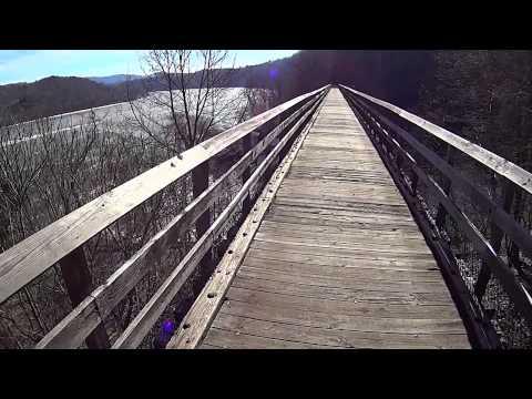 Winter New River Trail Hike & Commentary - Draper, Va