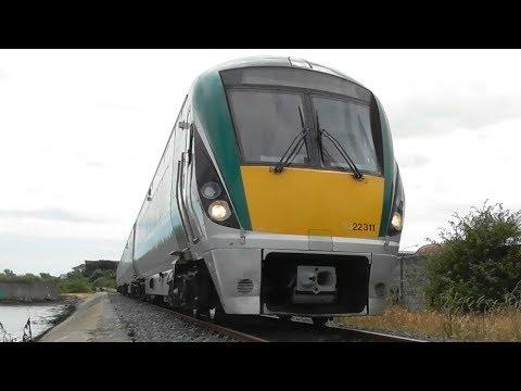 Irish Rail 22000 Class Intercity Train 22311 - Wexford, Ireland