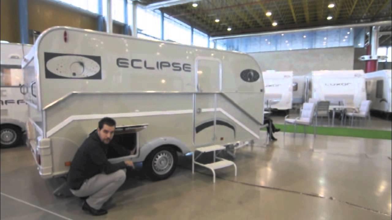 Caravana plegable across eclipse youtube - Interior caravana ...