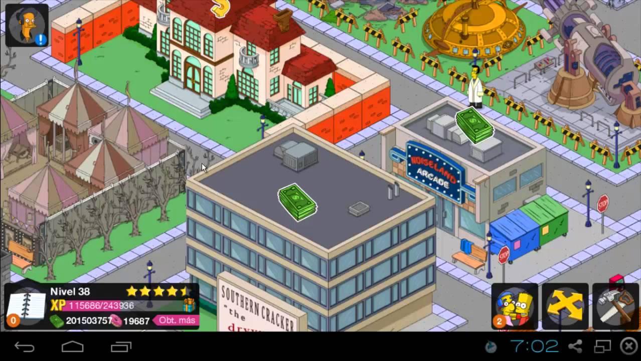 La Mejor Ciudad Los Simpson Springfield Tapped Out