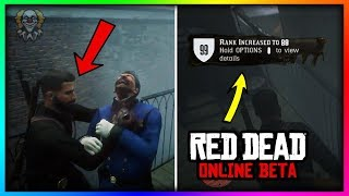 Red Dead Online SOLO UNLIMITED XP GLITCH! - How To Rank Up FAST & EASY! (RDR2 Online Exploit)
