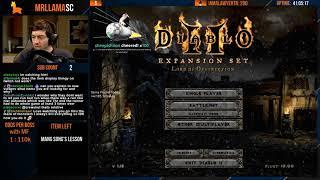 Diablo 2 - Holy Grail Sorc (01/17/2020)
