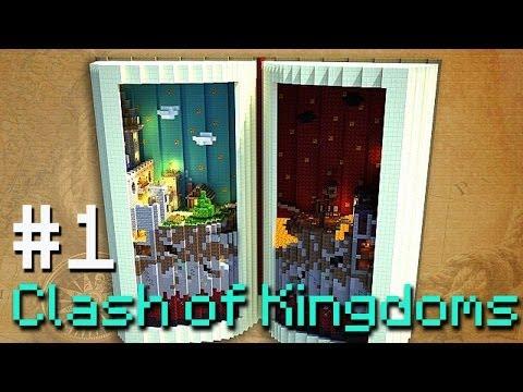 Minecraft PVP - Clash of the Kingdoms! #1